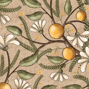 BellaNora Citrus pattern large
