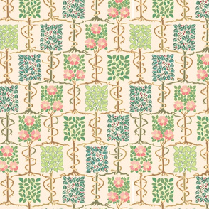 Wee Trees - Pink and Green