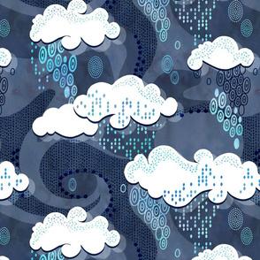 Beauty of raindrops
