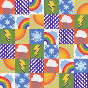 Talkin' 'Bout the Weather Report//Rainbow//Large Scale
