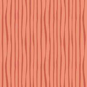 Book Stripe - Coral