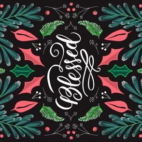 Pink & Black Birds