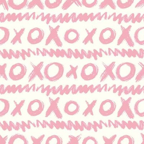 Love Scribbles Coordinate - Cream