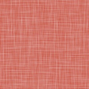 Linen Solid - Rose Coral (Books)