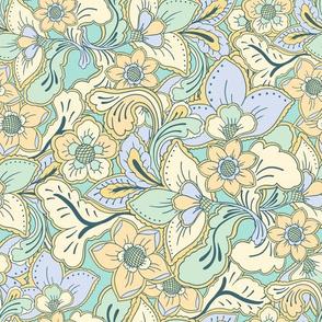 Boho Summer Mint blue by Jac Slade