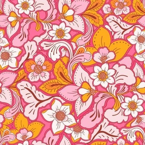 Boho Summer Pink Pop by Jac Slade