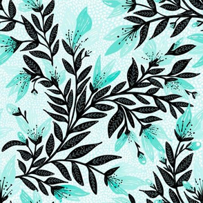Springtime turquoise by Jac Slade