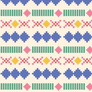 Kinfolk - pixel pattern