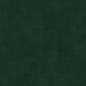 Forest Green Linen Textured Coordinate
