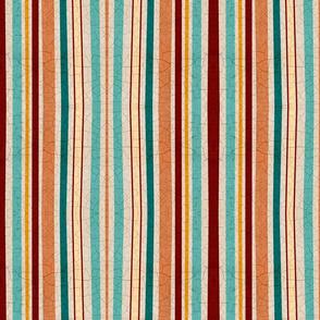 Kitchen Garden cracked soil stripes
