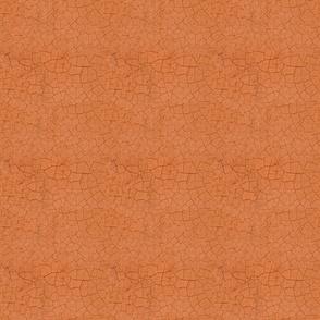 Orange cracked soil effect for Kitchen Garden collection