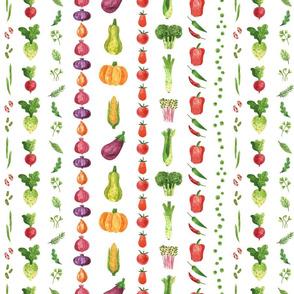 Veggie Stripes   Medley