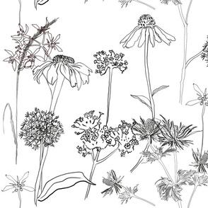 Doodle Flowers #1