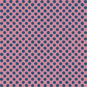 dark blue - pink