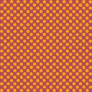 bordeaux - orange