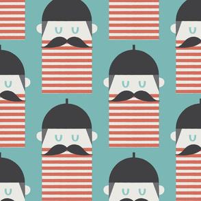 Beret collection - Moustache