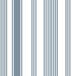 liberty blue white stripe ticking americana farmhouse cottage core beach coastal terriconraddesigns