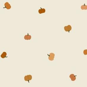 Pumpkins Fabric Tossed Pumpkins