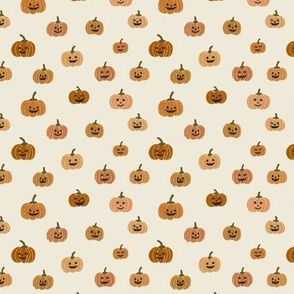 small // Halloween Pumpkins Jack o lanterns
