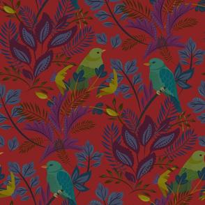 New Birds Red