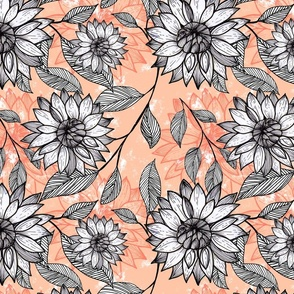 Spring Blooms - Peach