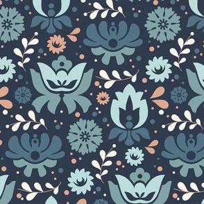 Folksy Florals Colorway 2