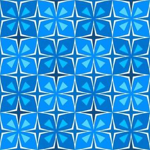 Tiki Toon Tiles Bloo Berry
