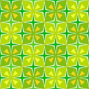 Tiki Toon Tiles Lemon Lime