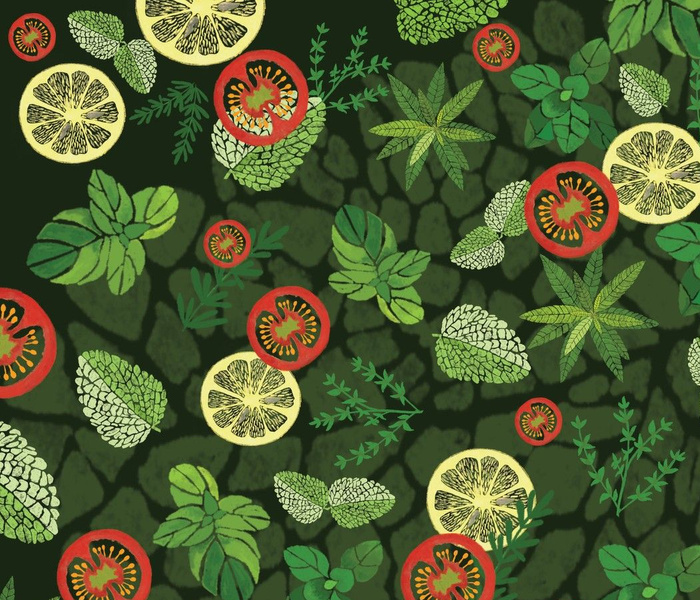 Aromatic  greens