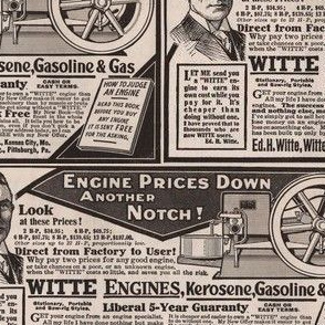 1915 Witte Hit and Miss Engine ad