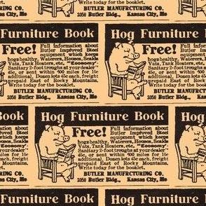 1915 ad for Hog Furniture