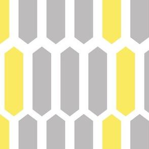 Gray and Yellow Geometric