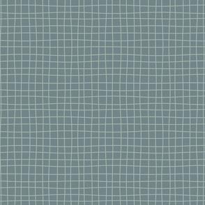 Messy lines - dark blue/ light blue