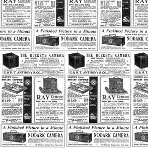 Newsprint Cameras