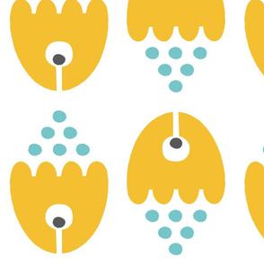 Rocket fish  in yellow