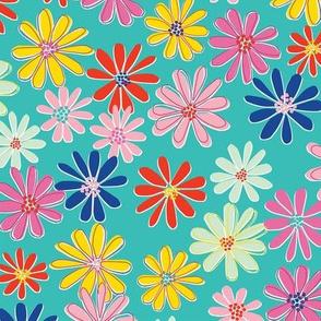 Retro Daisy Bright-nanditasingh