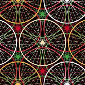 11728301 : wheels : christmascolors