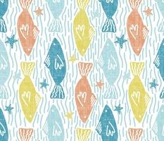 Fish swimming in clean waterways