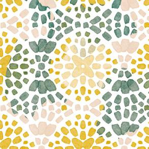 Mosaic tricolor