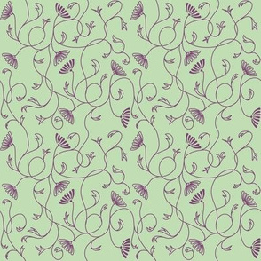 The Lucy - Violet/Green