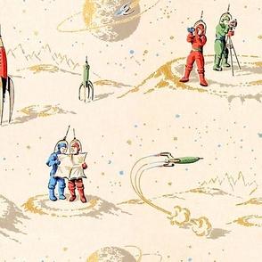 Astronauts & Spaceships 1a