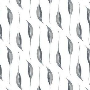 Paynes grey leaf stripe
