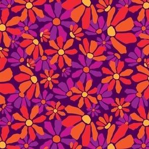 Medium_Flirty Floral_Purple_Laura Wayne Design