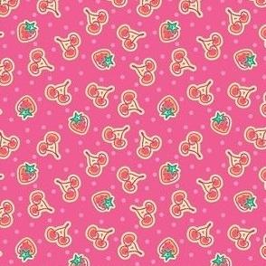 Ice Cream Crazy_Candy Apple_Cherry Pattern_Laura Wayne Design