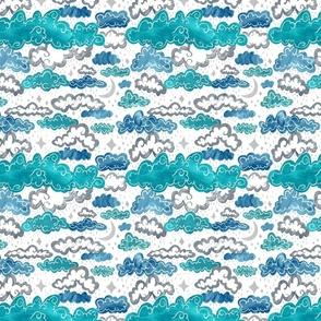 Starry Rainclouds - Sliver Blues