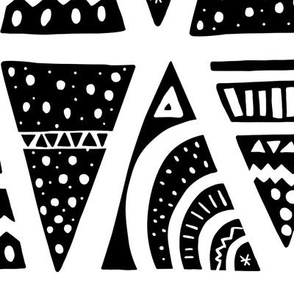 Aztec black big