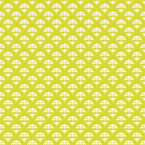 336 apple green white fleur de lis french cottage core classic playful bright graphic terriconraddesigns