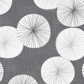 Umbrella Hues M+M Poppyseed Tangerine by Friztin