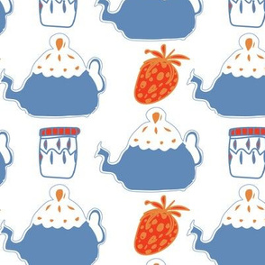 Tea with Jam White