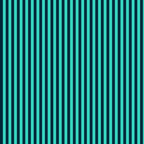 Navy Stripes on Teal Coordinate
